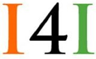 "Image is of the logo for Ideas 4 India; Image is text that reads ""I 4 I """