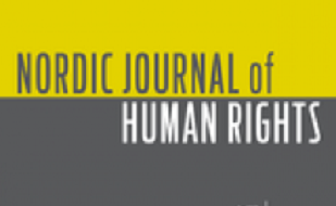 "Image is of a journal cover; Cover has text which reads, ""Nordic Journal of Human Rights"""