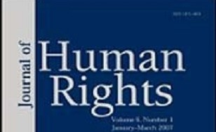 "Image is of text that reads ""Journal of Human Rights"""