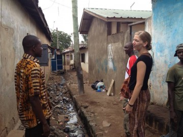Image of Cathy Buerger in Accra, Ghana