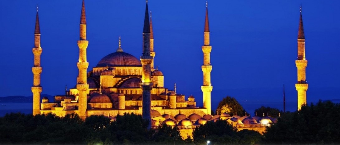 Image of Blue Mosque in Istanbul, Turkey