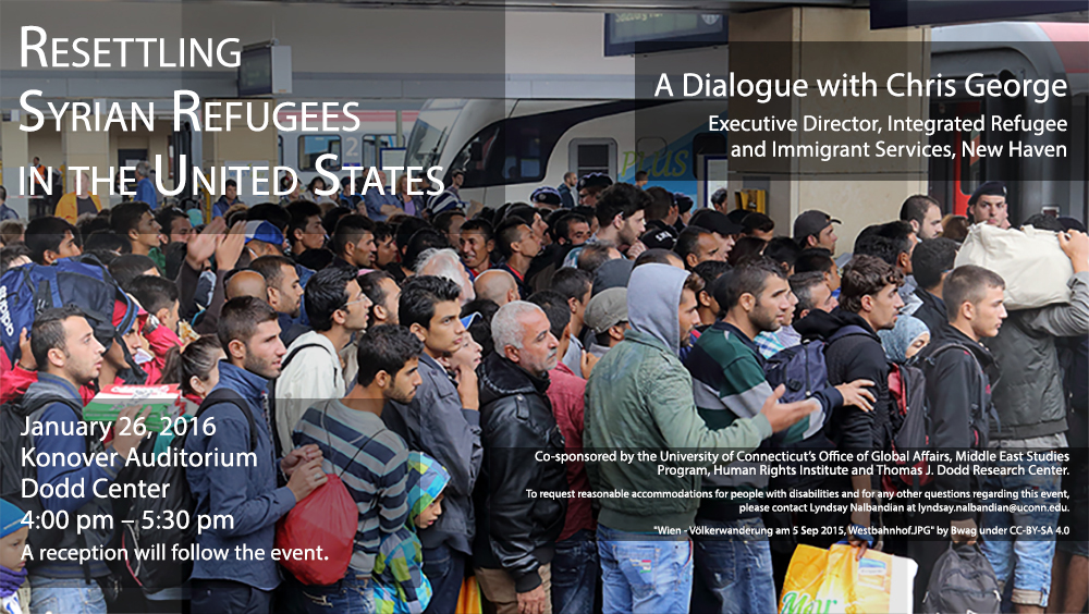 Syrian Refugee Poster