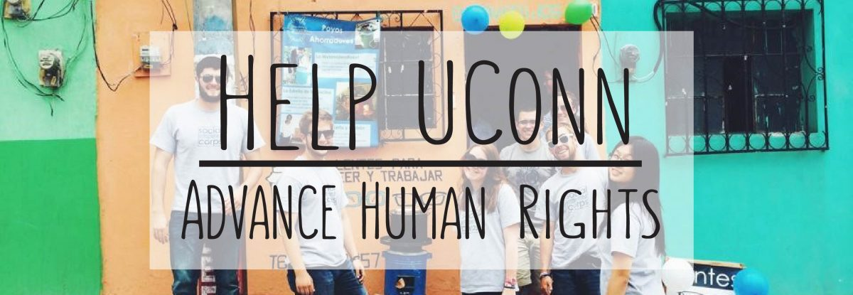 Help UConn Advance Human Rights