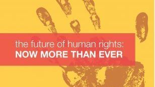 "Image of ""the future of human rights: now more than ever"" poster"
