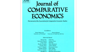 Image is the cover of the Journal of Comparative Economics