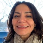Mayte Restrepo, Graduate Student from Public Health Sciences smiling