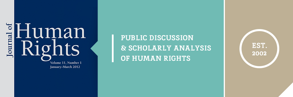 Journal of Human Rights graphic