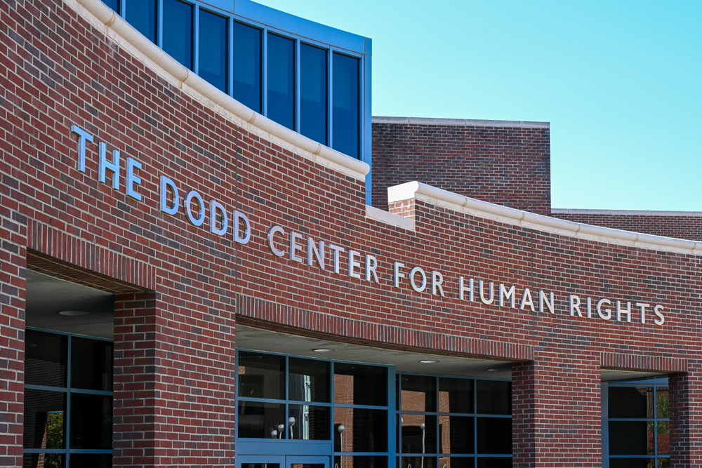 The Dodd Center for Human Rights building