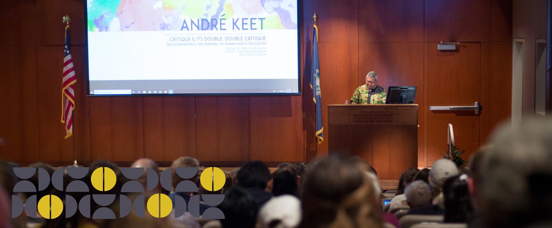 Gladstein Visiting Prof-Andre Keet