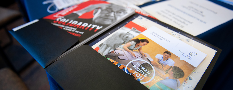 Communication printed materials