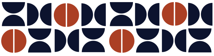 HRI circles blue and rust