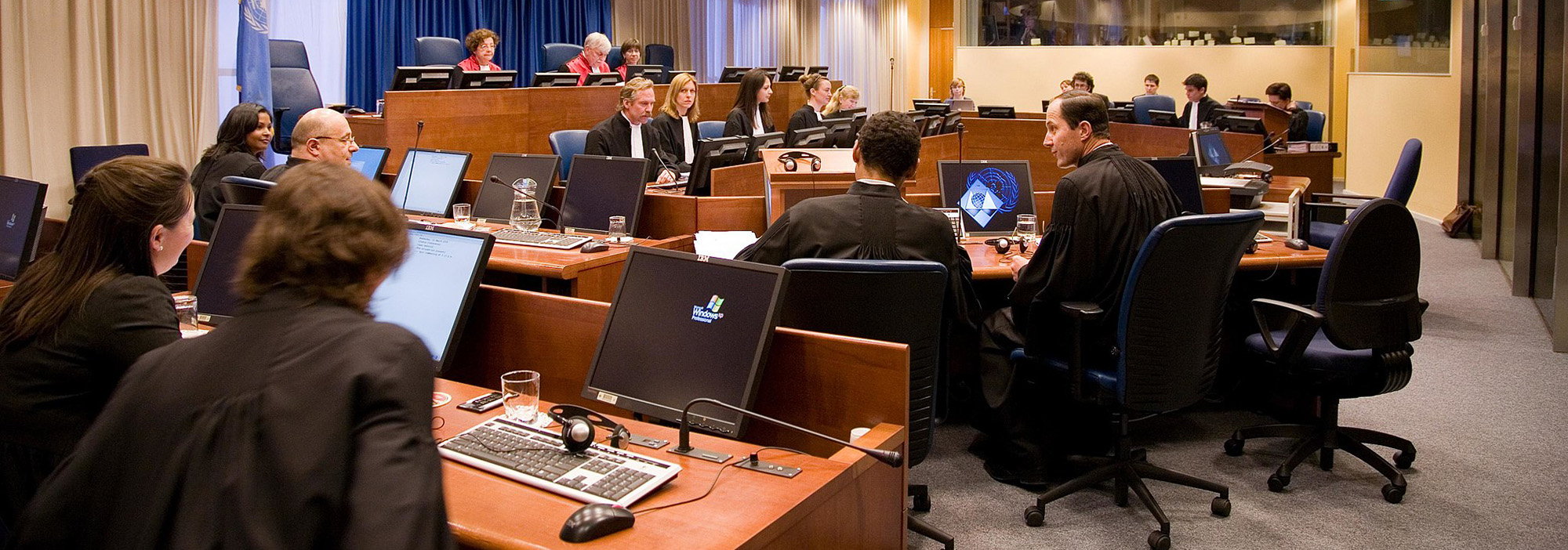 International Criminal Tribunal for the Former Yugoslavia courtroom